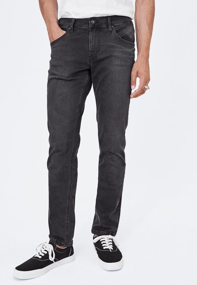 HARLEM SOUL CLE-VE ANTHRA JEANS - Straight leg jeans - anthra