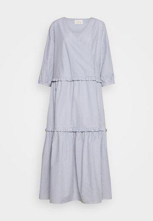 ELLY WRAP AROUND DRESS - Maxi dress - tradewinds/white