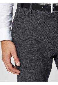 Selected Homme - Pantalón de traje - black - 3