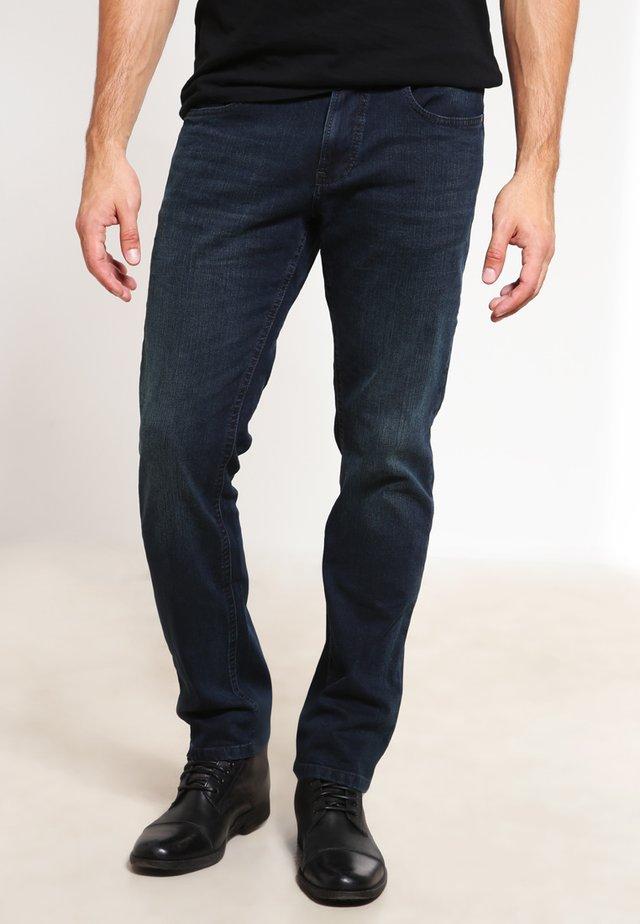 HOUSTON - Straight leg jeans - dark blue demin