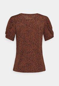JDY - JDYKIRKBY - Print T-shirt - rustic brown - 1