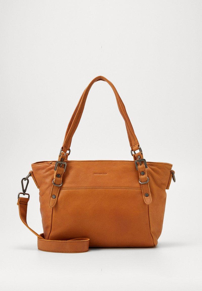 FREDsBRUDER - CHIRPY - Handbag - light camel