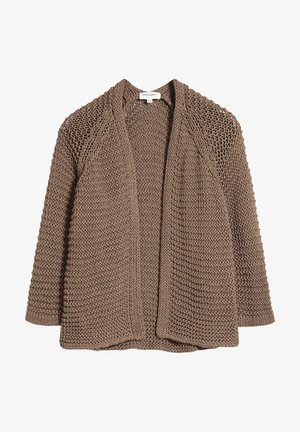 Cardigan - toasted hazel