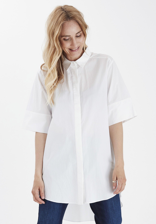 Good Service New Lower Prices Women's Clothing PULZ Button-down blouse cloud dancer nzCGhZt7q u7KJjt3Fc