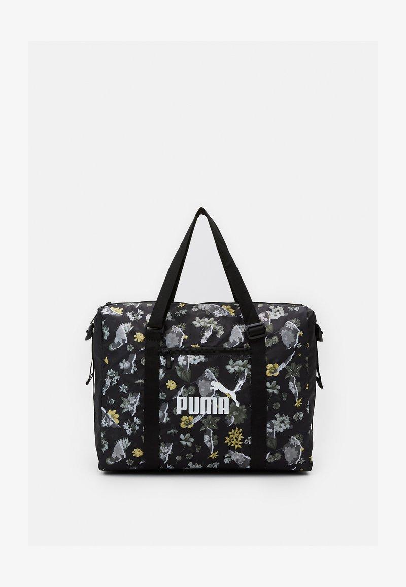 Puma - CORE SEASONAL DUFFLE BAG - Shopping bag - black