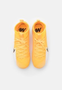 Nike Performance - MERCURIAL JR 7 ACADEMY FG/MG UNISEX - Moulded stud football boots - laser orange/black/white - 3