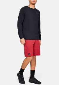 Under Armour - SPORTSTYLE LEFT CHEST - T-shirt de sport - black - 0