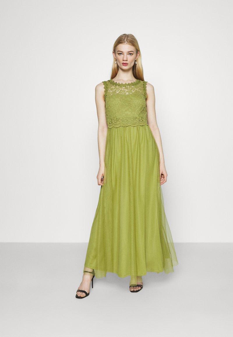 Vila - VILYNNEA MAXI DRESS - Společenské šaty - green olive