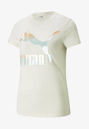 Print T-shirt - ivory glow-gloaming