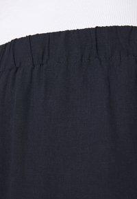 Samsøe Samsøe - HOYS STRAIGHT PANTS - Trousers - night sky - 4
