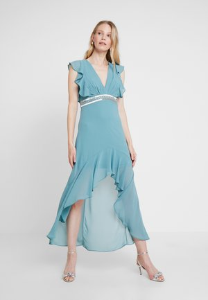 NISHA MAXI - Společenské šaty - native green