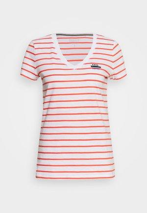 CORE - Print T-shirt - coral