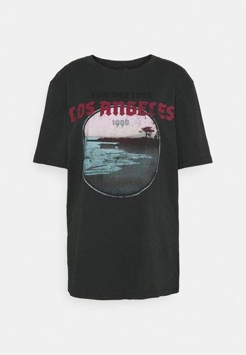ELLIE TEE - Camiseta estampada - offblack