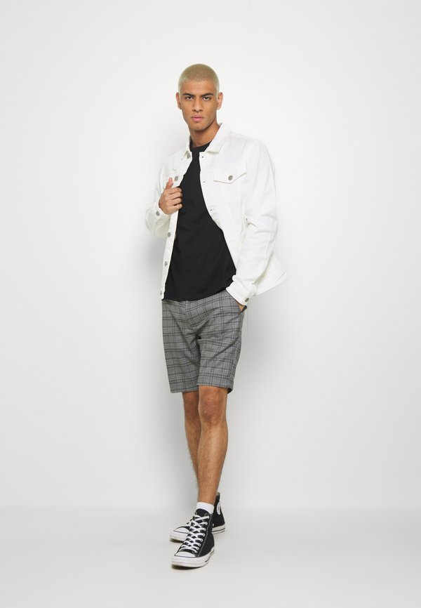 Burton Menswear London 3 PACK - T-shirt basic - black/czarny Odzież Męska KXUS