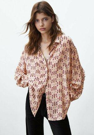 HEMD MIT - Button-down blouse - neon pink