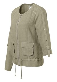 JUST WHITE - Summer jacket - khaki - 1