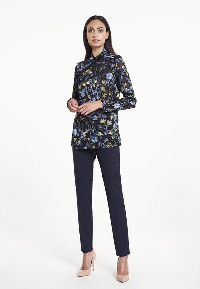 BLOEM PRINT - Button-down blouse - black