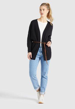 LADDY WITH BELT - Vest - schwarz