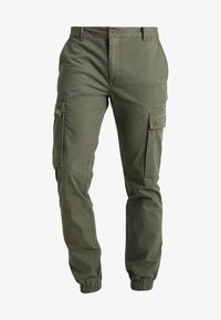YOURTURN - Cargo trousers - olive - 5