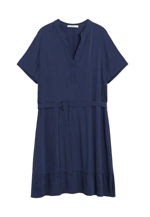 Robe en jersey - dunkles marineblau