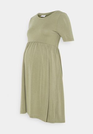 PCMKAMALA DRESS - Jersey dress - green