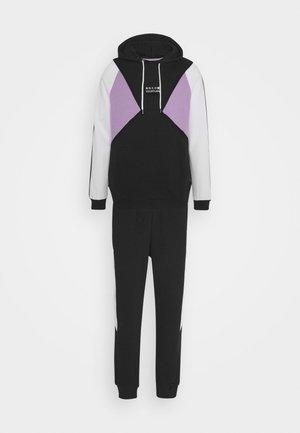 SET UNISEX - Zip-up hoodie - black