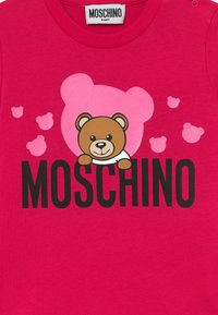 MOSCHINO - Long sleeved top - fucsia flower - 3