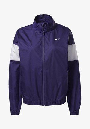 LINEAR LOGO JACKET - Treningsjakke - purple