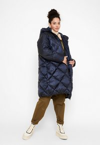 Aigle - FASSIE LONG - Winter coat - bleu marine - 1