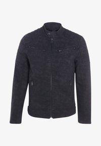 BONOBO Jeans - Veste en similicuir - black - 4
