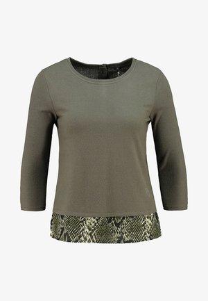 LINDA - Long sleeved top - khaki