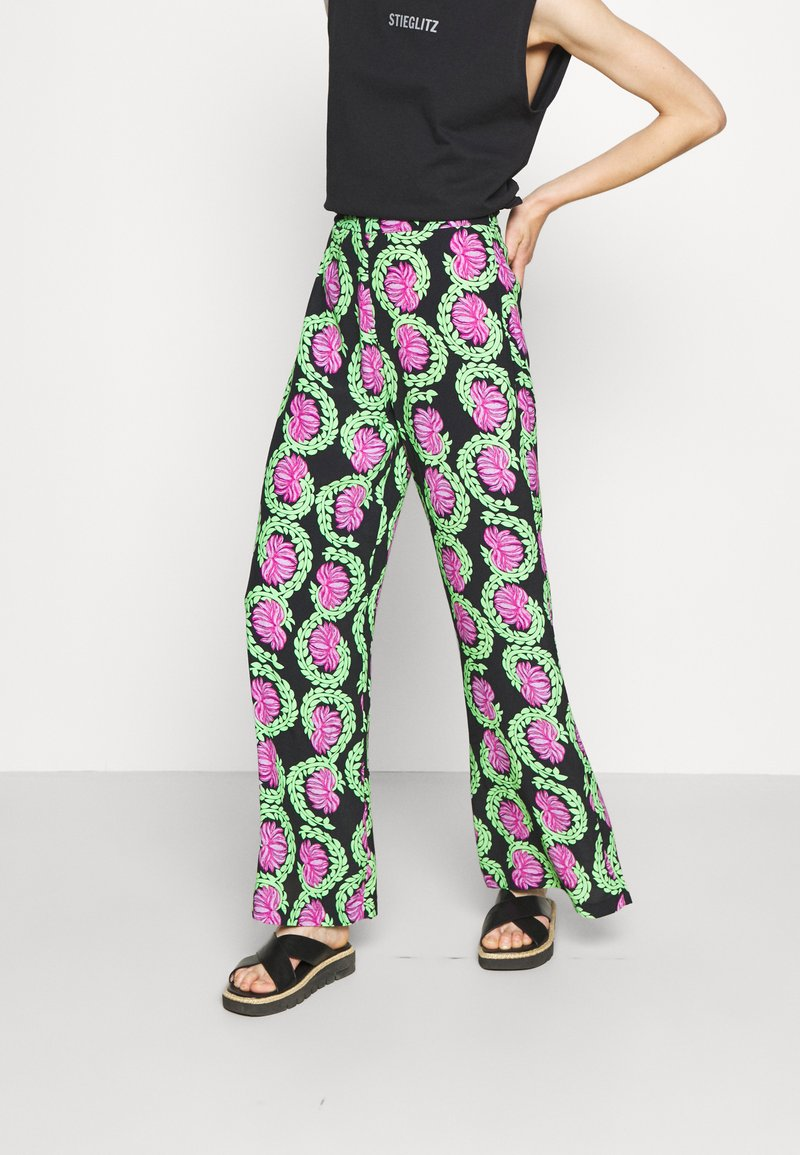 Stieglitz - JAHAN PANTS - Kalhoty - multicolor