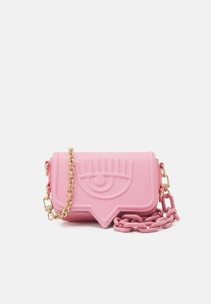SMALL EYELIKE BAG - Olkalaukku - candy pink