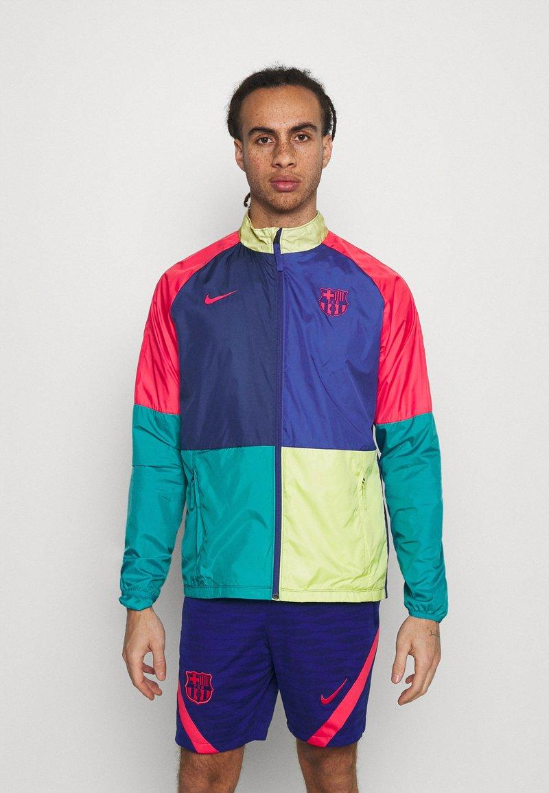 Nike Performance - FC BARCELONA DRY  - Club wear - deep royal blue/blue void/lt fusion red