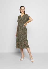 Moss Copenhagen - EDA RIKKELIE DRESS - Day dress - brown / multicolor - 0