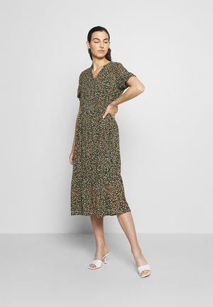 EDA RIKKELIE DRESS - Robe d'été - brown / multicolor