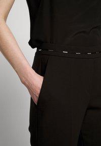 HUGO - HAZENA - Trousers - black - 7