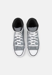 Converse - CHUCK TAYLOR ALL STAR UNISEX - High-top trainers - limestone grey/white/black - 3