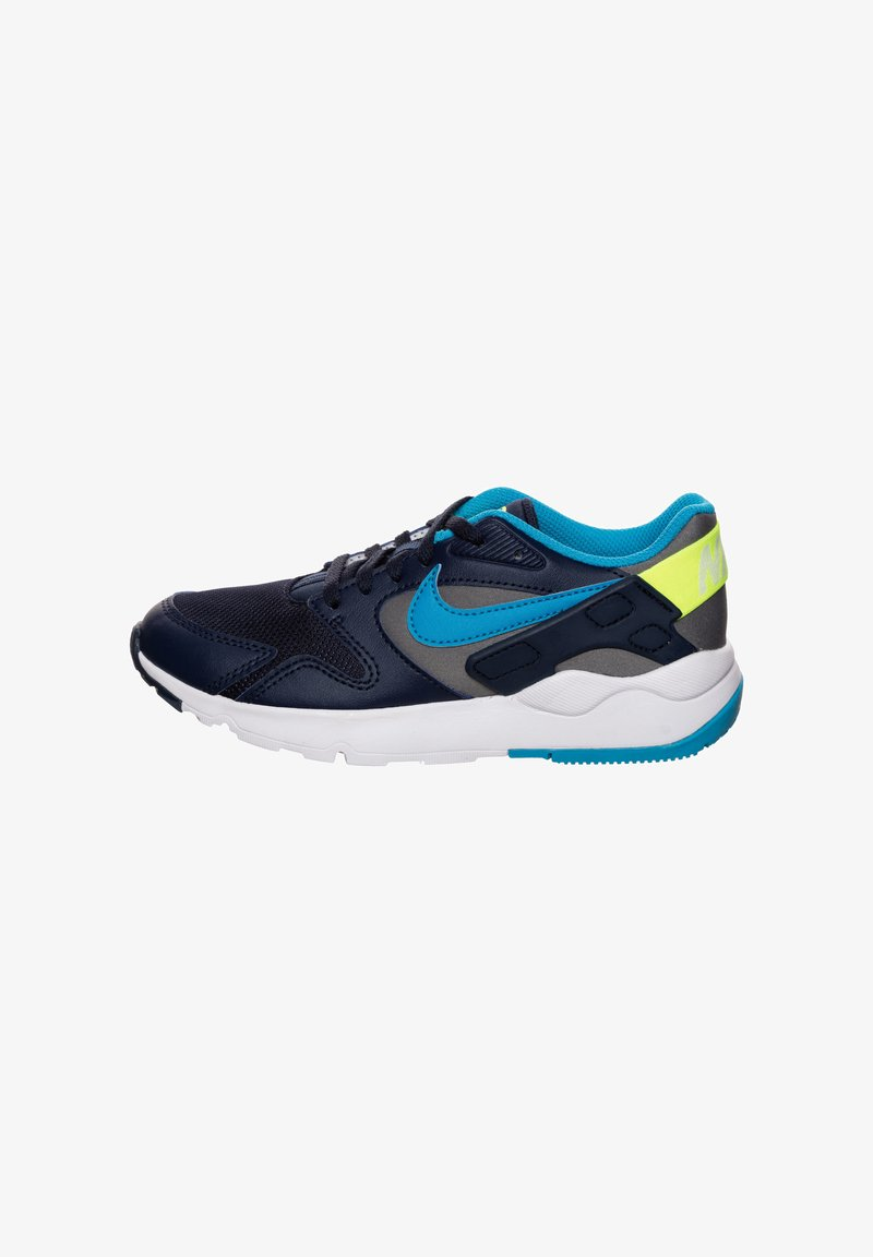 Nike Sportswear - VICTORY - Trainers - smoke grey / laser blue / midnight navy