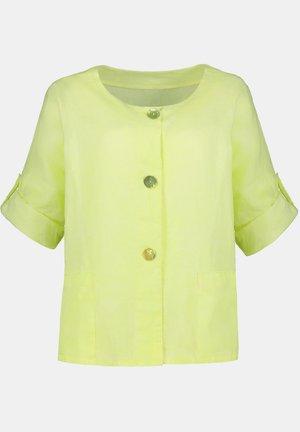 Summer jacket - neongelb