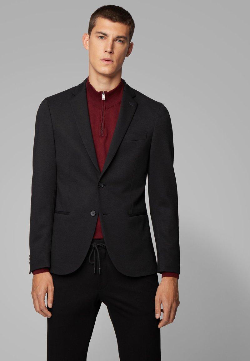 BOSS - Blazer jacket - black