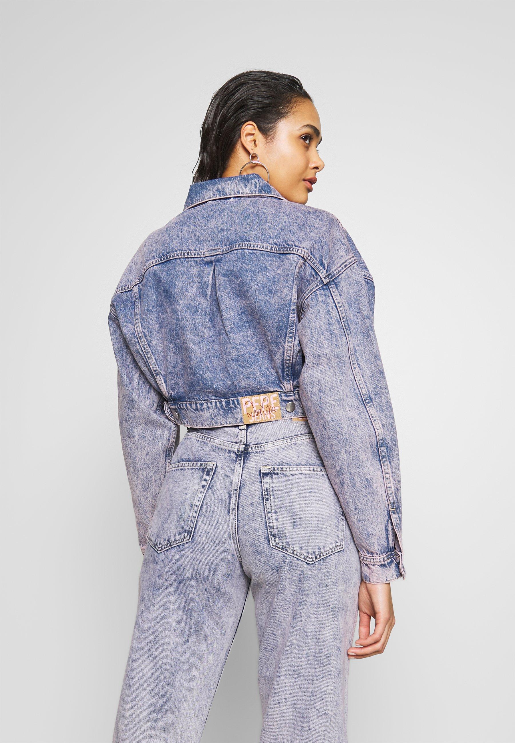Pepe Jeans DUA LIPA x PEPE JEANS - Veste en jean - denim - Vestes Femme INP1V