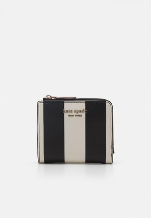 SPENCER STRIPE SMALL BIFOLD WALLET - Wallet - black