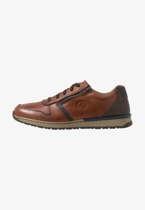 Sneaker low - nut/ozean/toffee