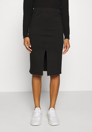 NMSKYLER BELOW KNEE SKIRT - Pencil skirt - black