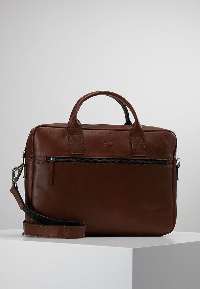CLEAN BRIEF ROOM UNISEX - Briefcase - brown