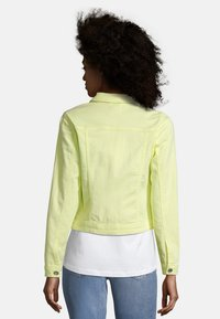 Cartoon - Denim jacket - neon lemon - 2