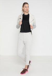 adidas Performance - ATTEETUDE TEE - T-paita - black/white - 1