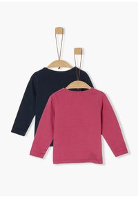 s.Oliver - Long sleeved top - pink/navy - 1