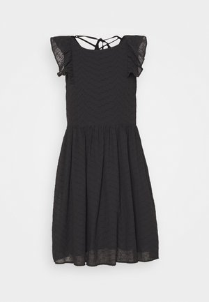 LADIES DRESS - Korte jurk - black